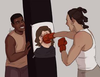 Patreon Reward - FinnRey Boxing by yinza