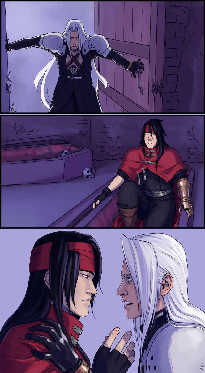Sephiroth Meeting Vincent