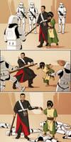 Chirrut + Toph vs Stormtroopers