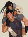 Patreon Reward - Zack and Yuffie