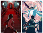 Tifa vs Sephiroth