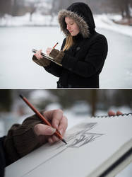 Sketching by knofla