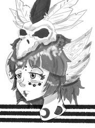 ~Raven Shaman~ by D1gg3R101