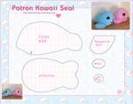 Kawaii Seal Pattern