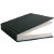 Black Hardback Sketchbook Icon by linux-rules