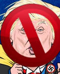 Proudly Anti-trump by linux-rules