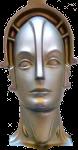 Metropolis Robot Icon 150x78