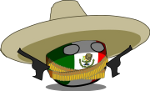 Mexico bola revolucionaria Icon ultrabig by linux-rules