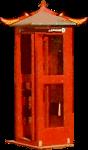 Chinatown Telephone Box Icon ultrabig