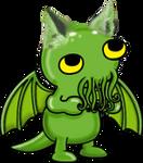 Cat Cthulhu Icon ultrabig