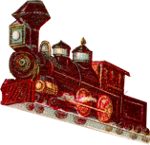 Victorian Steam Locomotive (machine) Icon ultrabig by linux-rules
