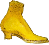 Yellow boot Icon big by linux-rules