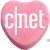 Cnet (special heart) Icon by linux-rules
