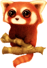 Red panda Icon big by linux-rules