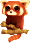 Red panda Icon ultrabig by linux-rules