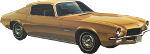 Chevrolet 1971 Camaro coupe Icon ultrabig by linux-rules