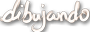 Dibujando.net (wordmark) Icon 90x32 by linux-rules