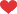 Heart (red) Icon ultramini