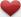 Heart (red, 2) Icon mini