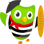 French Duolingo Icon ultrabig by linux-rules