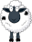 Sheep Icon mid by linux-rules