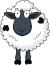 Sheep Icon big by linux-rules