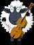Cellist Sheep Icon big