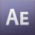 Adobe After Effects CS3 Icon mid by linux-rules