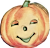 Happy Pumpkin (drunk) Icon by linux-rules