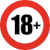 18 age restriction Icon