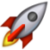 Rocket (Apple iOS) Emote