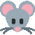 Mouse Face (Twitter) Emote by linux-rules