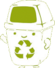 Recycle for a happier earth Icon big by linux-rules