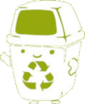 Recycle for a happier earth Icon ultrabig by linux-rules