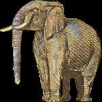 Fun Elephant Icon ultrabig