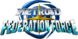 Metroid Federation Force Logo