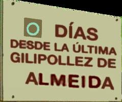 Almeida es Carapollas logo