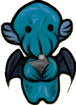 Cutehulhu (Cute Cthulhu) (stock)