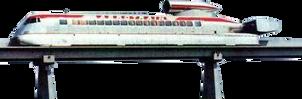 Aerotrain (with tracks) (stock)