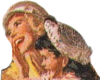 Mother and daughter Icon big