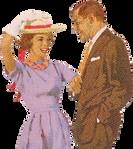 1961 Couple (stock)