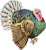 Happy Turkey Icon