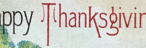 Happy Thanksgiving (banner)