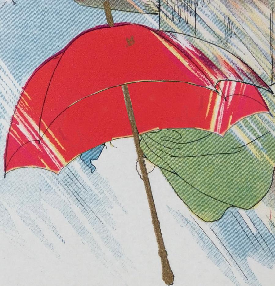 Red Umbrella (stock)