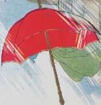 Red Umbrella Icon ultrabig