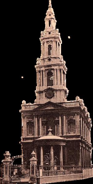 St Mary le Strand, London (stock)