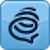 Formspring.me (blue) Icon