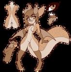Serval Inspired Feline Anthro Adopt CLOSED