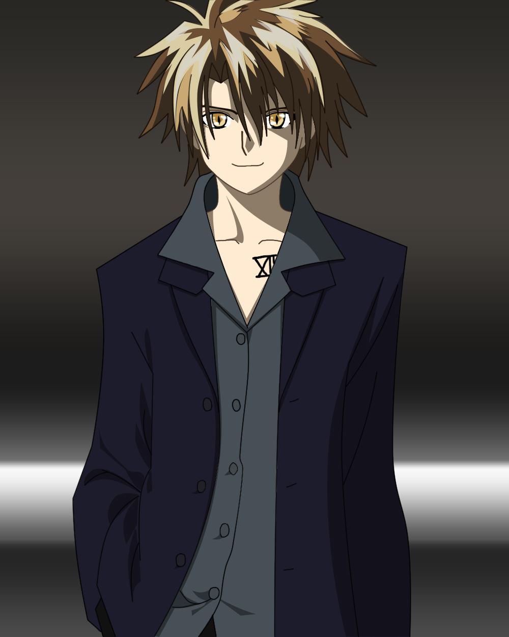 Personnage de manga avec costard sur le forum BD Mangas