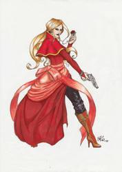 Juliette Ardalion in colours by Khanorn